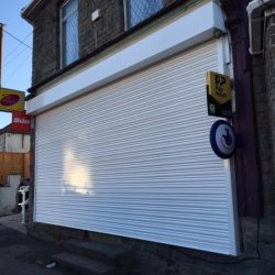 Roller Shutter supplied and installed in Bristol