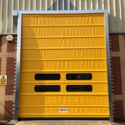 New high speed industrial door fitted in Avonmouth, Bristol