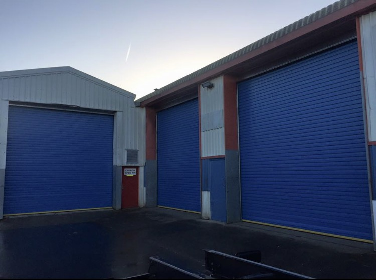 Insulated roller door supplied and fitted in Bristol