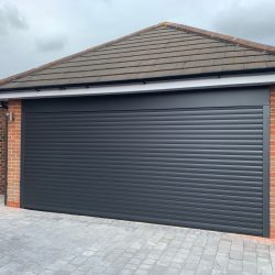 Insulated roller garage door fitted in Bradley Stoke, Bristol