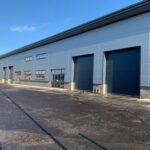 Industrial Doors fitted to new warehouse in Swindon