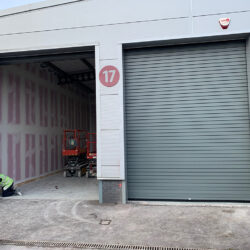 Industrial Roller Shutter fitted near Bristol Airport