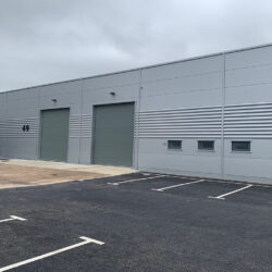 Insulated sectional doors fitted to warehouse in Bristol